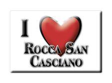 CALAMITA EMILIA ROMAGNA FRIDGE MAGNETE SOUVENIR I LOVE ROCCA SAN CASCIANO (FO)