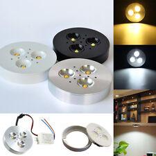 1/10/20pcs 3W Kitchen LED Under Cabinet Lighting Kit Puck Lamp Bulb AC85-265V