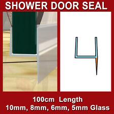 SHOWER SCREEN DOOR PLASTIC STOP WATER SEAL STRIP 10MM 8MM 6MM 5MM GLASS H-SHAPE