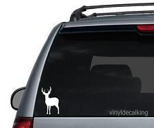 Deer Decal, Vinyl Truck, Boat, Hunting Window Stickers