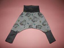 Pumphose aus Sweatshirtstoff  jeansblau  mit glitzer Bambis Mitwachshose