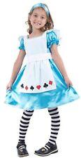 Kids Bookweek Fairytale Storybook Girls Alice Wonderland Costume - 6,8,10