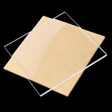 Clear Acrylic Plank Plastic Sheet Glass Panels Eco Friendly DIY Makings 1mm-4mm