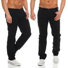 BIG SEVEN - MATT - Black Antic - Regular Fit - XXL Men / Herren Jeans Hose