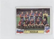 1994 Panini World Cup Album Stickers Carvajal Mundial de Futbol 124 Rossija Card
