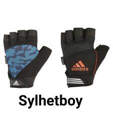 Official Adidas Performance Men's Half Finger Fitness Training Gym Gloves