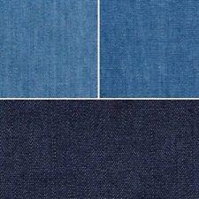 4oz Lightweight Prewashed Denim 100% Cotton 145cm Wide