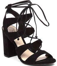 Vince Camuto Winola Lace Up Cutout Sandal, Sizes 6-10 VC-WINOLA Black Nubuck