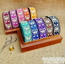 Traditional Indian Asian Paisley Jacquard Ribbon Trim MA127