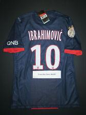 2013-2014 Nike PSG Zlatan Ibrahimovic Authentic Player Issue Jersey Shirt Kit