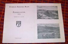 OTTADALEN KOMMUNALE BILLAG SOMMER-RUTER 1970. OTTADALEN MUNICIPAL BUS COMPANY TT