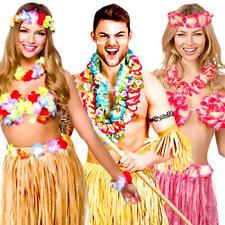 Hawaiian Adults Fancy Dress Tropical National Hawaii Island Beach Party Costumes