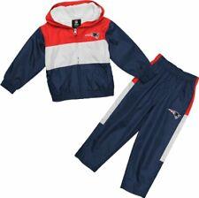 New England Patriots 2pc Wind Suit Jacket & Pants Set Infant Baby 24 Months