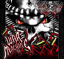 "POLARIS GENERAL ""WAR MACHINE"" GRAPHICS WRAP SKIN DECAL KIT FOR OEM BODY / DOORS"
