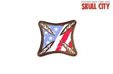 EE.UU. CRUZ DE HIERRO parche parche para coser Tatuaje Motociclista Army Stars