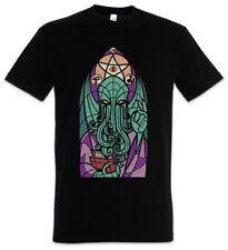 Church of Cthulhu t-shirt Miskatonic Lovecraft Arkham Dunwich cathédrale église