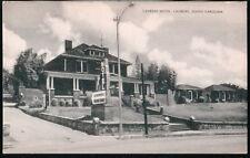 LAURENS SC Motor Court Motel Vintage B&W Postcard Old South Carolina PC