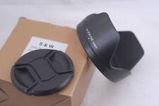 New Hood for Canon EW-78E + 72mm Center Pinch Cap