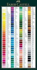 FABER Castell-Albrecht Durer-Singolare-Artisti Acquerello matite 601 a 665