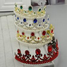 5.5cm Hoch Luxus Hochzeit Braut Haarschmuck Krone Diademe Tiara - 4 Farben