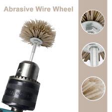 New listing 6mm Steel Wire Brush Polishing Wheels Full Kit for Dremel Rotary Tools Us