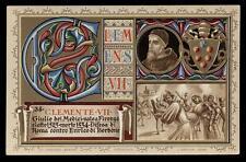 cartolina RELIGIOSA-CLEMENTE VII PAPA