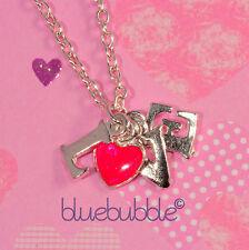Funky Vintage Estilo Amor Collar Sweet Valentine Girl amigo amuleto lindo regalo del Reino Unido