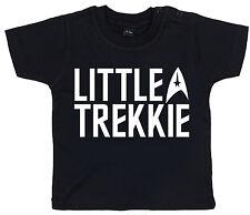 """poco Trekkie"" T-shirt Star Trek Bebé Niño Niña Niño Tee Regalo divertido"