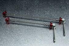 J&L Ti/Titanium Lever&Axle QR/Quick Release Wheel Skewers/-36g/Pair-Super Light