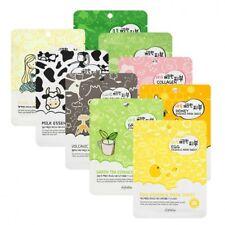 Korea 3pcs Esfolio Pure Skin Collagen Essence Moisture Face Mask Sheet US Seller