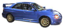 02-07 Subaru Impreza STI Look Duraflex Side Skirts Body Kit!!! 103187