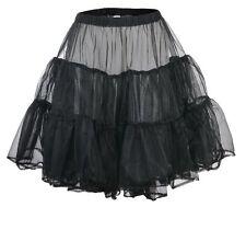 Petticoat, Rock´n Roll, 50er Jahre, 60er Jahre Rockabilly weiß und schwarz