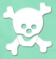 10 découpe tête de mort sizzix Fabrication Carte Pirate Halloween Kids 10x9.5 cm