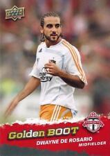 2009 Upper Deck Major League Soccer 'Golden Boot' Card Different Variations MLS