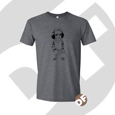 Big Lebowski el tipo de culto film inspirado Cartoon Impreso gráficos Camiseta