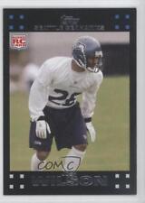 2007 Topps #381 Josh Wilson Seattle Seahawks RC Rookie Football Card
