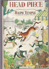 RALPH TEMPLE - HEAD PIECE     FIRST EDITION