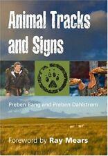 Animal Tracks and Signs (Pocket Nature Guide S.) by Bang, Preben Hardback Book