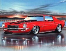 24x36 inch Evil Chevrolet Camaro Muscle Car Silk Wall Art Poster Print