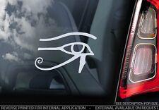 Eye Of Horus - Car Window Sticker -  Egyptian Wadjet Decal Ra Wedjat Sign - V01
