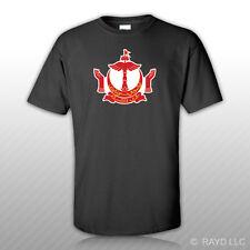 Bruneian Crest T-Shirt Tee Shirt Free Sticker Brunei flag BRN BN