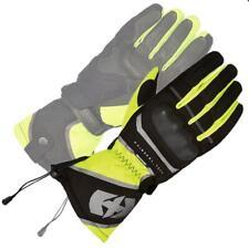 Oxford Montreal 100% Waterproof Motorcycle Glove - Black/Fluo