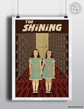 THE SHINING (Twins) - Minimalist Movie Poster Print Posteritty Kubrick Carpet