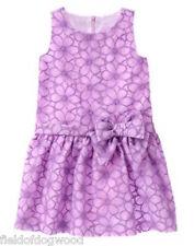 NWT Gymboree Egg Hunt Purple Floral Dress 4,5 6,8,10 Easter Wedding