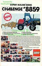 Lego Expert Builder Series 8859 Harvester 1981 Print Ad