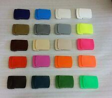 1 x Hochwertige Kunststoff Gürtel universal schnalle made in Germany 20 Farben