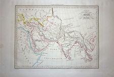 1833 Genuine Antique map of Ancient Asia. Malte-Brun