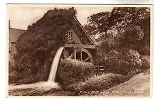 Pile's Mill Allerford Photo Postcard c1910 / Minehead