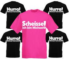 Junggesellenabschied T-Shirt HURRA XXX heiratet - Scheisse ich bin XX JGA Shirt