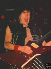 ADRIAN SMITH PINUP Iron Maiden 80's Heavy Metal Guitar